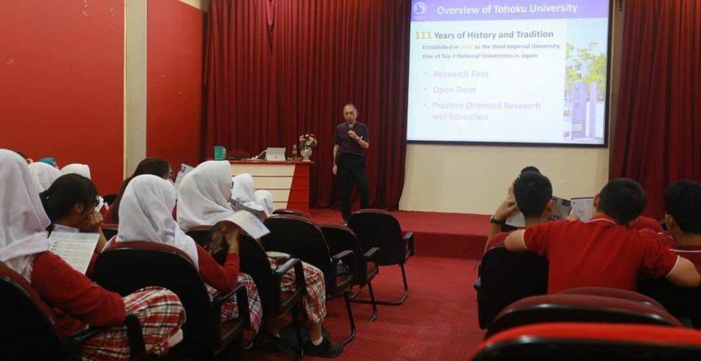 Seminar From Tohoku University Japan - Semesta Bilingual ...