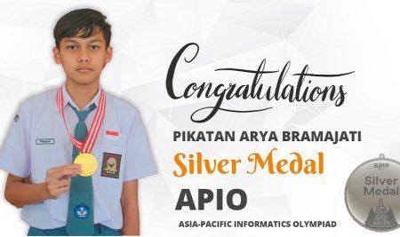 Siswa SMA Semesta Berprestasi di bidang di Olimpiade Informatika Asia-Pasifik